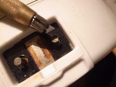 ポット部の電極