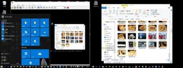 win10デスクトップ画面