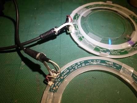 リングライト電線補強