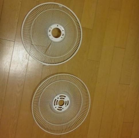 扇風機の網