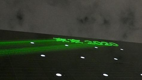 レーザー光