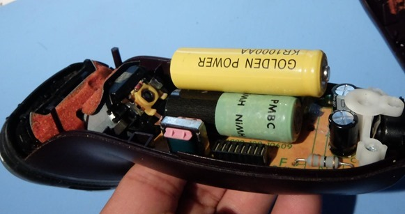 充電池大きさが違う