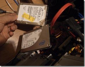 SSDとHDDとで比べる