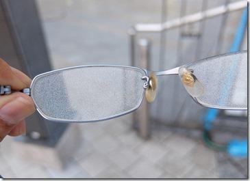 メガネが曇る