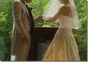 結婚式 誓いの儀